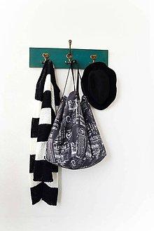 Veľké tašky - Casual... obojstranná... #36... & kožené ramienka - 7982641_