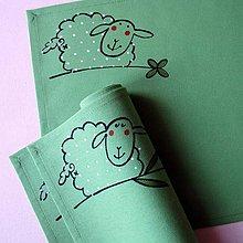 Úžitkový textil - JARNÍ OVEČKY - prostírání - 7980877_