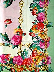 Textil - Hodvábny elastický satén - 7980428_