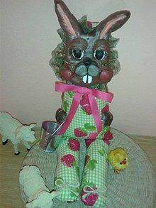 Bábiky - Bábika zajko Veľká Noc - 7980779_
