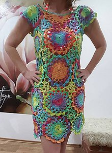 Šaty - Plážové šaty - 7984434_