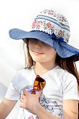Čiapky - Letný klobúk Folk & Flower - 7983190_