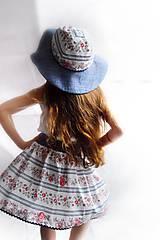 Detské oblečenie - Detská sukňa Folk & Flower - 7983777_