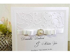 Papiernictvo - svadobné oznámenie 510 - 7984018_