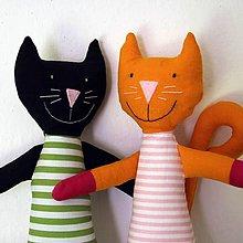 Hračky - Mačičky sestričky (Čierna) - 7981788_