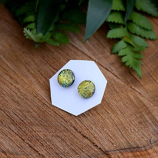 Zlato-zelené dichroic napichovačky