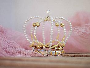 Ozdoby do vlasov - královská koruna - 7984046_