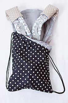 Detské doplnky - Vrecko na manducu či iný nosič - 7985961_