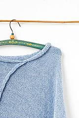 Iné oblečenie - _ALPAKA PoNČo... vo svetlosivej... 100% alpaka - 7988994_