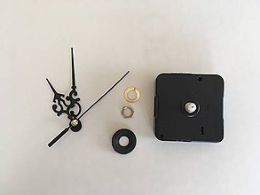 Komponenty - Hodinový strojček s ručičkami - 7985566_