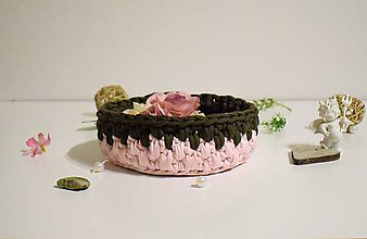 Košíky - Košík recy Ruže s čokoládou - 7988166_
