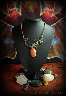 Náramky - Oranžový kameň - 7984700_