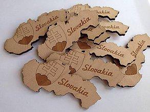 Magnetky - Slovakia magnetka - tmavá - 7986249_