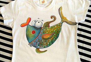 Tričká - rybička na želanie - 7988969_