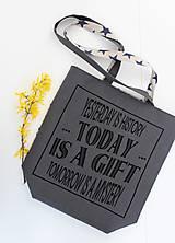 Veľké tašky - Textilná taška 2v1 Today AKCIA !!! - 7986596_
