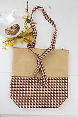 Veľké tašky - Textilná taška Cristina - 7987026_