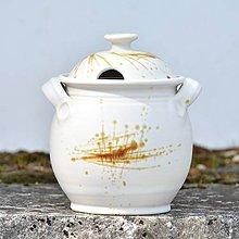 Nádoby - Velká dóza na med/ medovka 1,7l - Vůně kávy - 7988092_