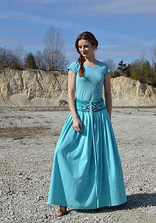 Sukne - Crochet waist skirt -blankyt - 7987765_