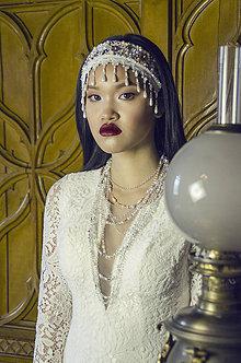 Ozdoby do vlasov - Kráľovský multifunkčný šperk (6 možností využitia) - 7984811_