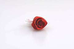 Pierka - Pierko červené ruža - 7986026_