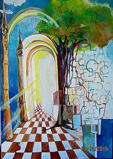 Obrazy - Strom poznania - 7984941_