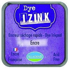 Farby-laky - Rýchloschnúca poduška na pečiatkovanie - IZINK Fialová Encre - 7988626_