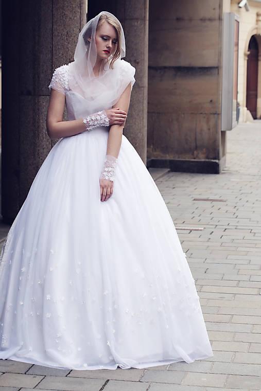 Svadobné šaty Space   ceccilia - SAShE.sk - Handmade Šaty 38226ea3eff