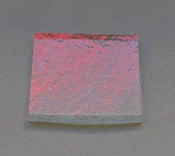 Suroviny - Dichroické sklo priehľadné - červený odlesk /blackcherry/ - 7989855_