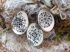 Dekorácie - Veľkonočné vajíčka - 7991629_