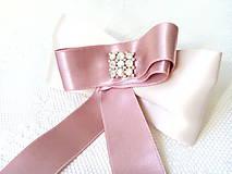 Odznaky/Brošne - Vintage pink lady brooch - 7992877_
