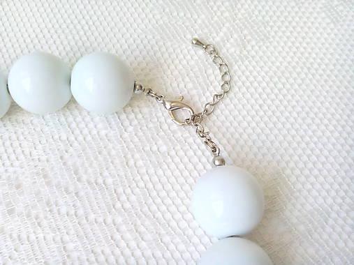 eab24adb9 Big Retro BonBons (white) / BonBonBijoux - SAShE.sk - Handmade ...