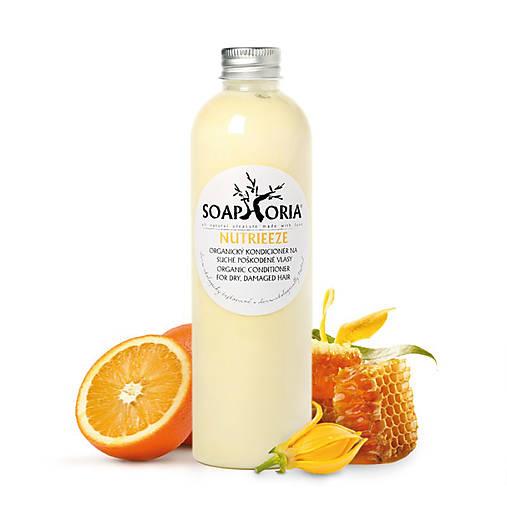 Nutrieeze - organický tekutý kondicionér na na suché a poškodené vlasy