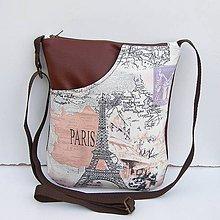 Kabelky - Hnedá kabelka Paríž - 7991810_