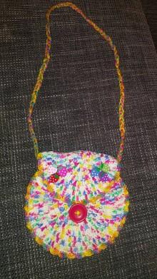 Detské tašky - Hačkovaná kabelka - 7989934_