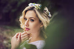 """Ozdoby do vlasov - Kvetinový venček """"Záplava konvaliniek"""" - 7993030_"""