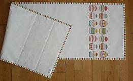 Úžitkový textil - Obrus, štóla VEĽKONOČNÉ VAJÍČKA 2 - 7990382_