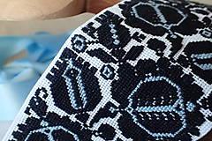 Opasky - Opaštek ETNOLOGY - modré zrnká - 7992621_