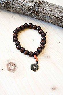 Náramky - Yoga... #6... čínska minca - 7992646_