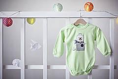 Detské oblečenie - Little Dictator Green - 7993184_