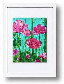 Obrazy - Medzi kvetmi - 7993016_