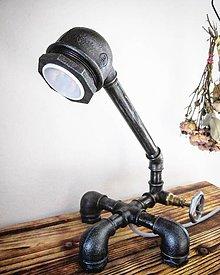 Svietidlá a sviečky - Pipe Lamp IDEA - 7991015_