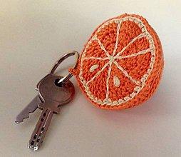 Kľúčenky - mandarínka - 7990467_