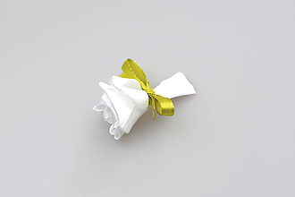 Pierka - Pierko biele ruža (bielo-zelené) - 7990752_