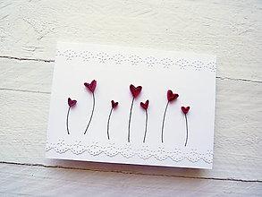 Papiernictvo - svadobná pohľadnica - 7991158_