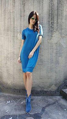 Šaty - Šaty Alona petrolejové - 7990932_