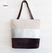 Kabelky - ALEX Silver Stripe n.2 kabelka na plece - 7990995_
