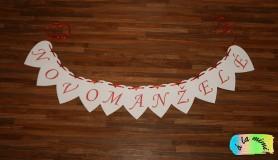 Girlanda Novomanželé