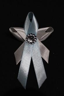 Pierka - Svadobné pierko - motýlik sv. modrý - 7994159_