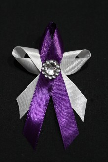Pierka - Svadobné pierko - motýlik fialový - 7994195_