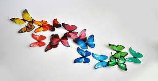 Drobnosti - Mix 15 ks jedlých motýlikov - 7996827_